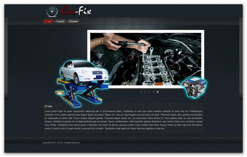 Car Fix - szablon strony www