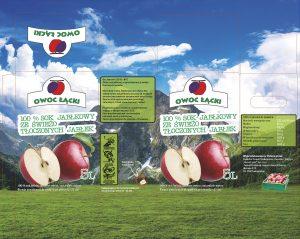 Owoc Lącki - karton na sok