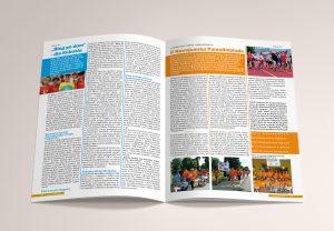 Projekt layoutu i skład czasopisma