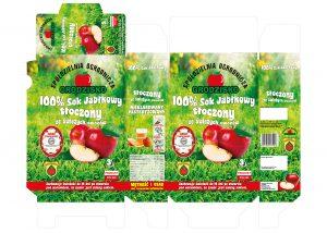 Raciechowice - karton na sok jabłkowy