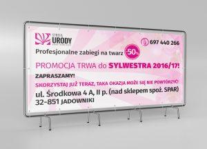Strefa Urody - billboard