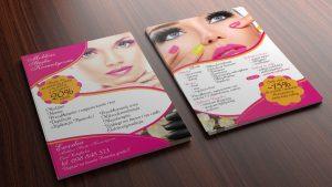 Ulotka - Ewodia - Mobilne Studio Kosmetyczne
