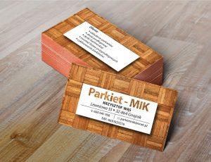 Wizytówka - Mik Parkiety