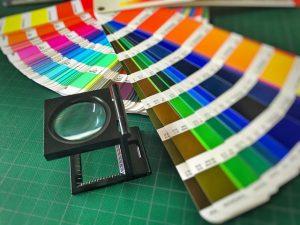 Kolory dodatkowe - wzornik