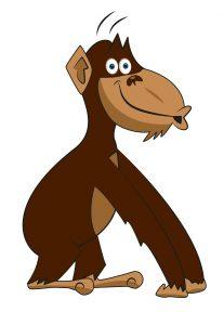 Postac szympansa