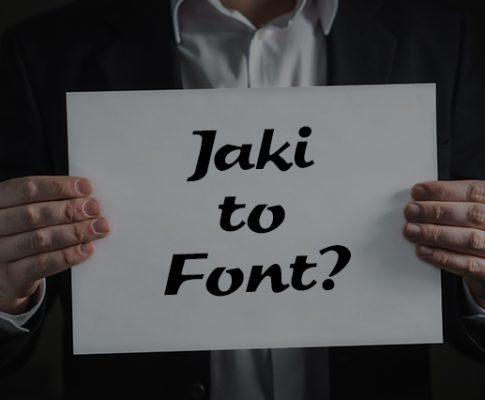 Jaki to font?  Jak rozpoznać czcionkę?