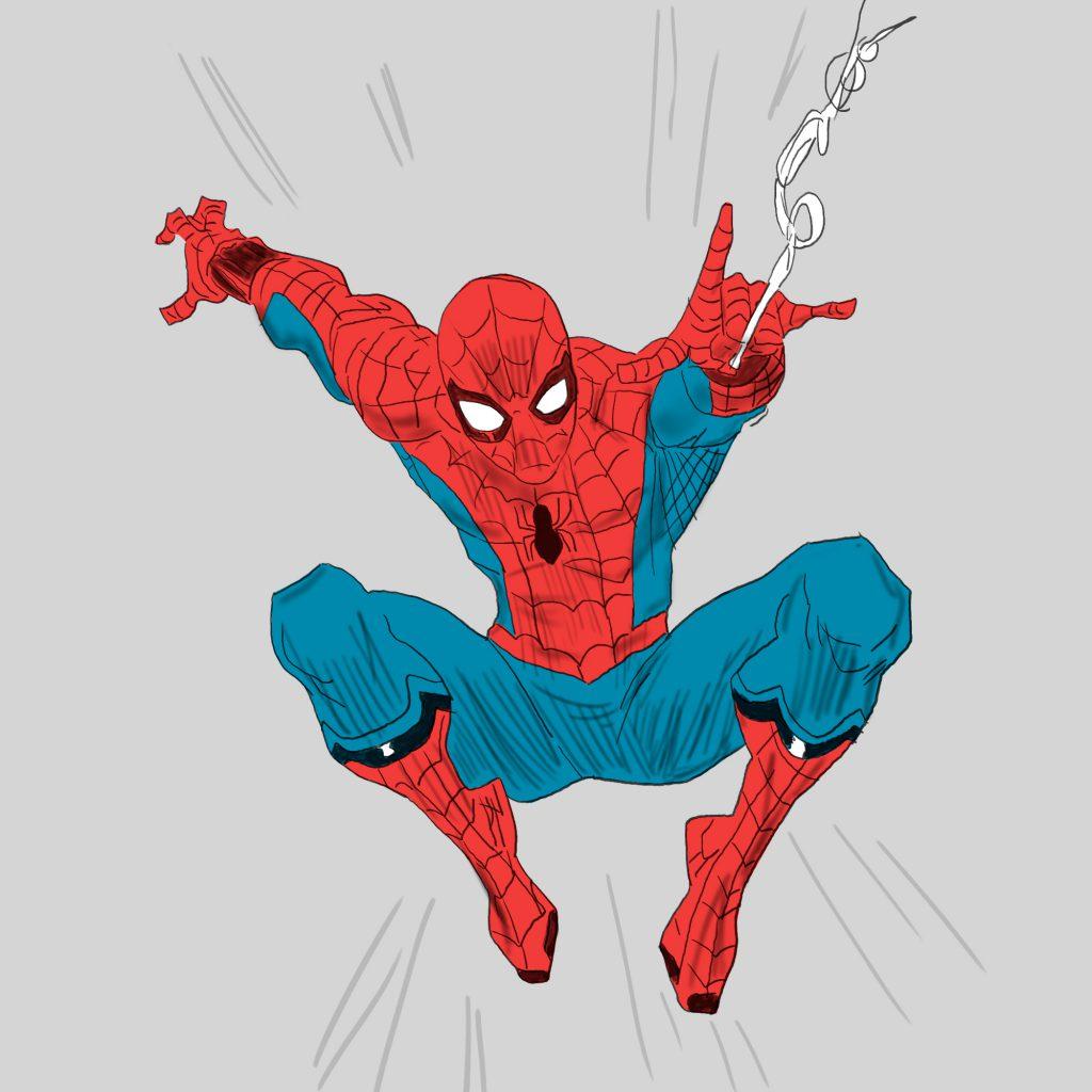 spiderman - ilustracja