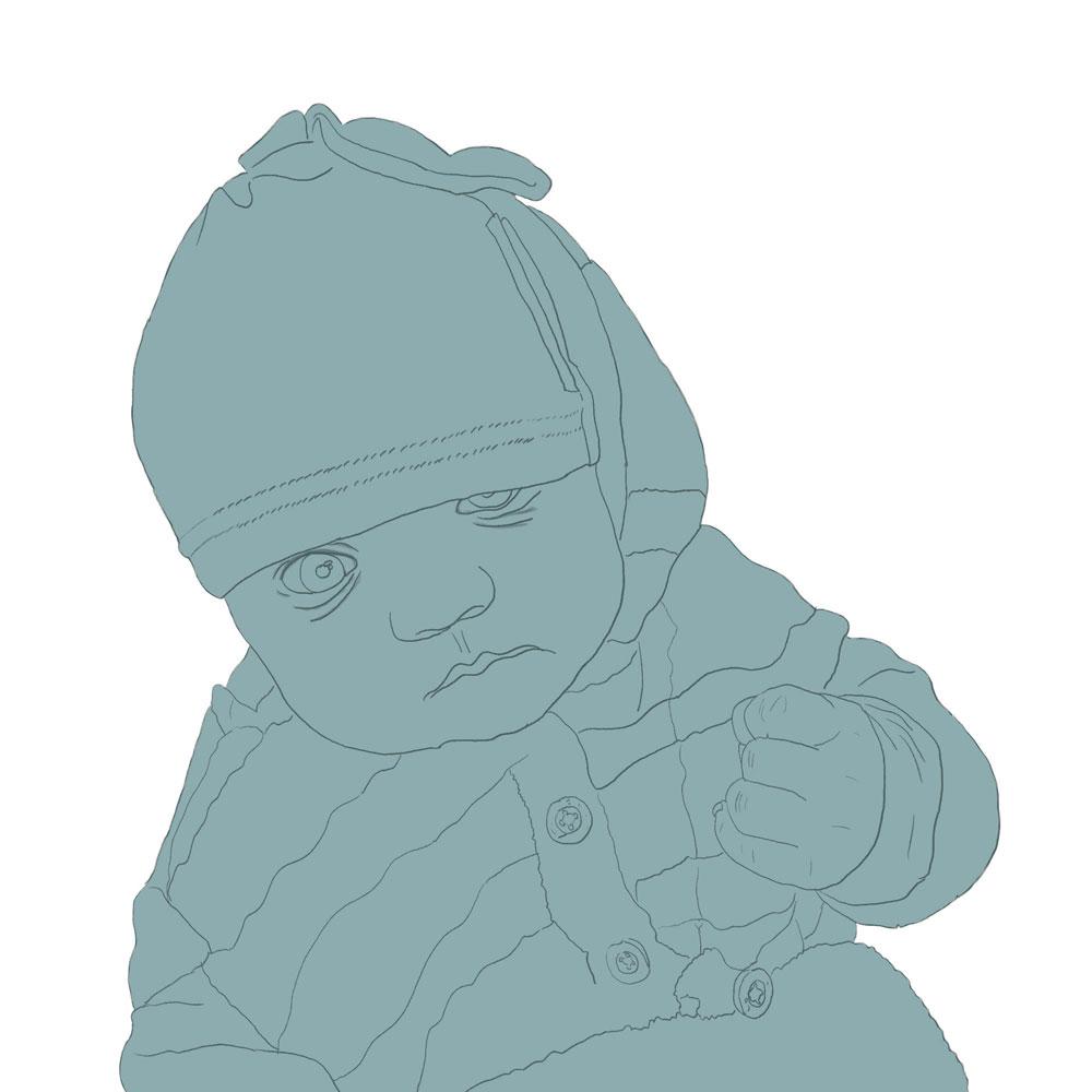 Dziecko - rysunek