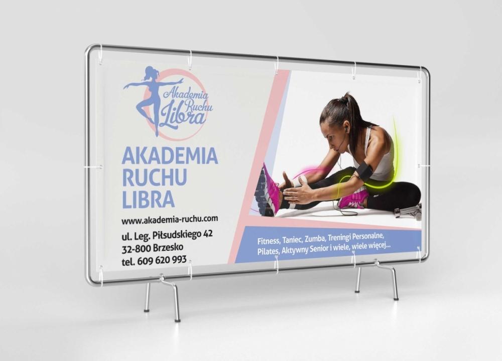 Akademia Ruchu Libra - billboard