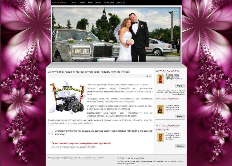 Studio Korawer - strona internetowej