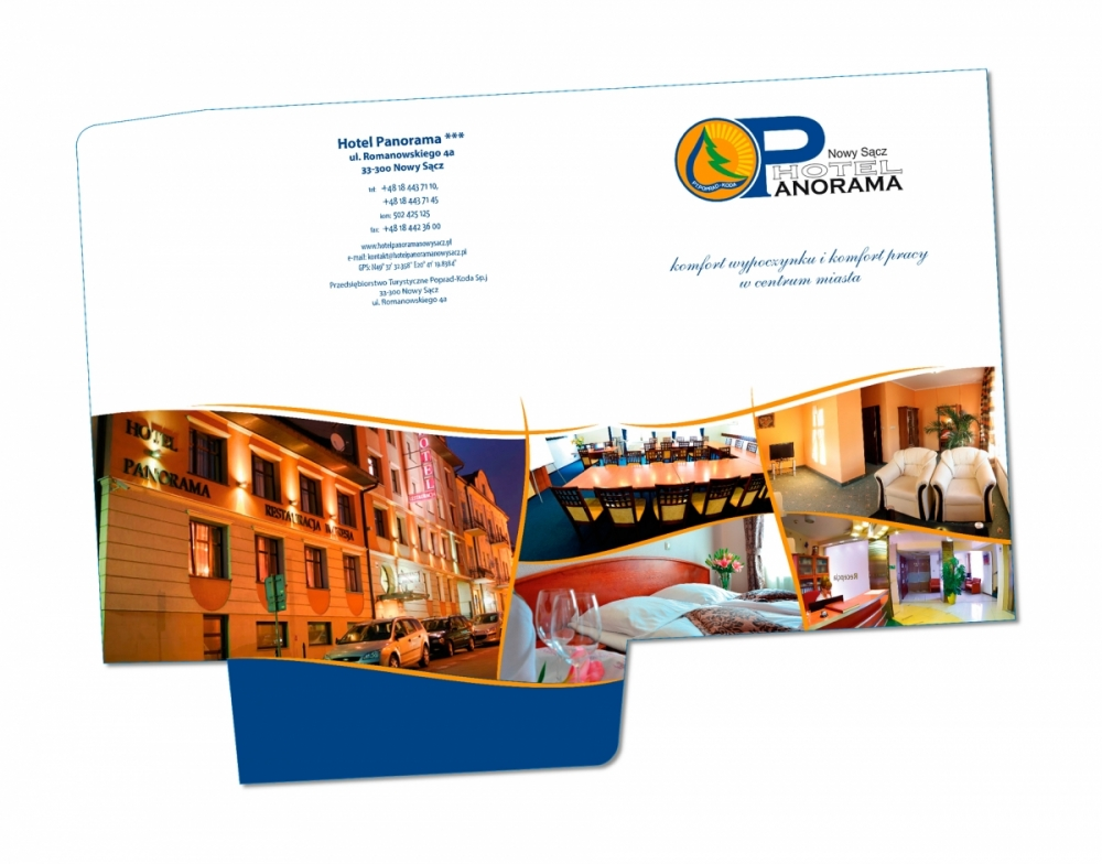 Hotel Panorama - teczka-A4