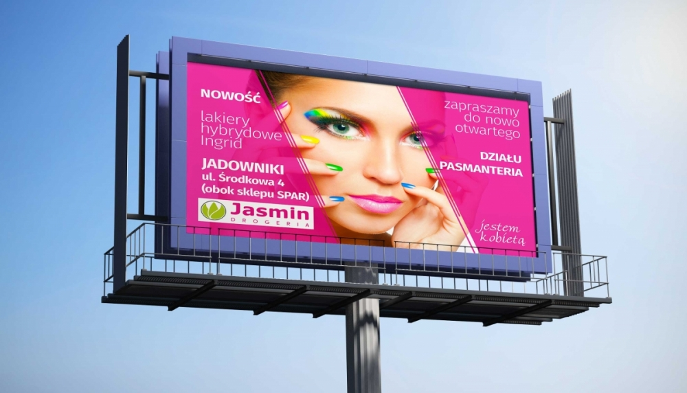 Jasmin - billbord