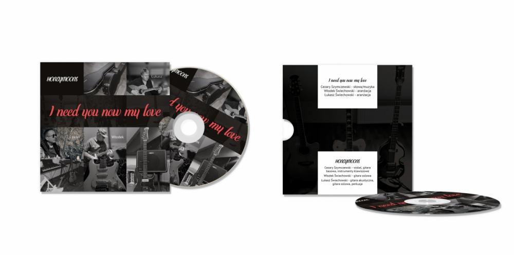 Projekt okładki na płytę CD
