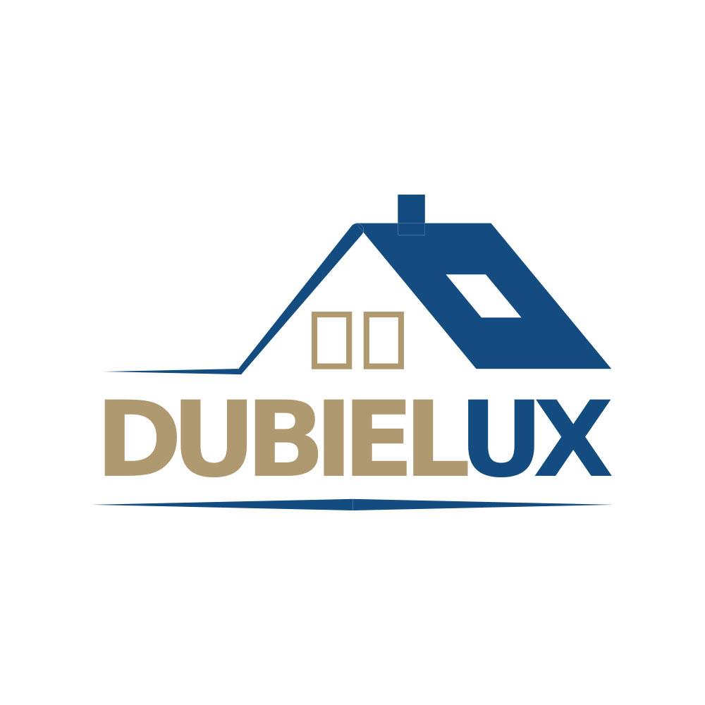 DubieLux - logo dla firmy remontowo-budowlanej