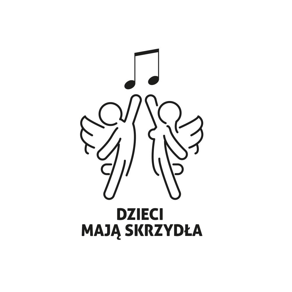 Dzieci maja skrzydła - logo dla fundacji