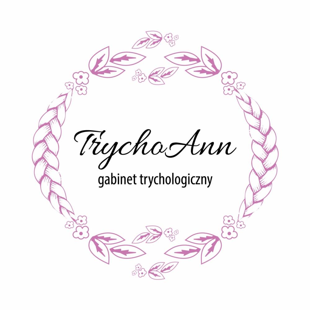 Gabinet trychologiczny - projekt logo