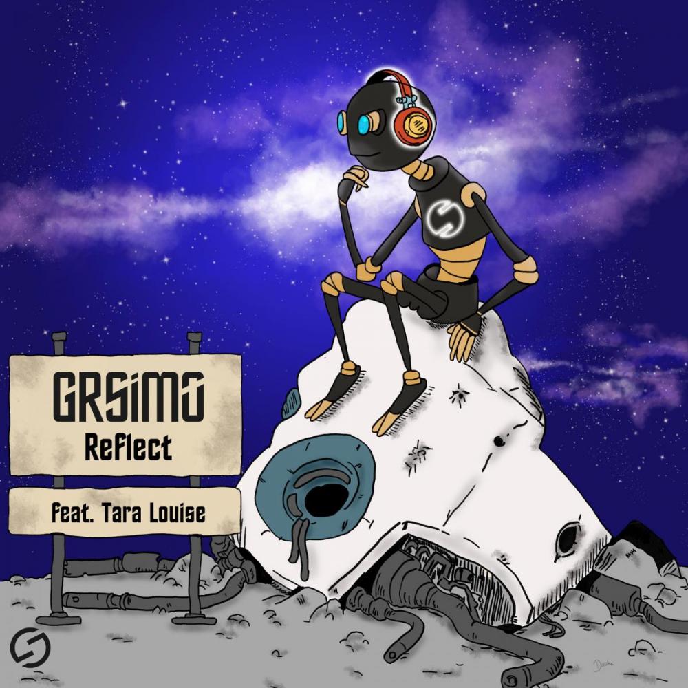 Ilustracja na okładkę albumu muzycznego - wersja online