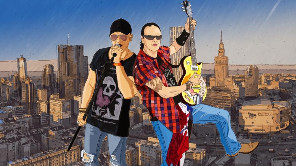 Ilustracja zespołu muzycznego