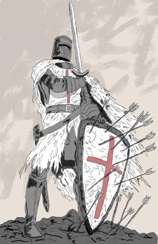 Krzyżowiec - rysunek