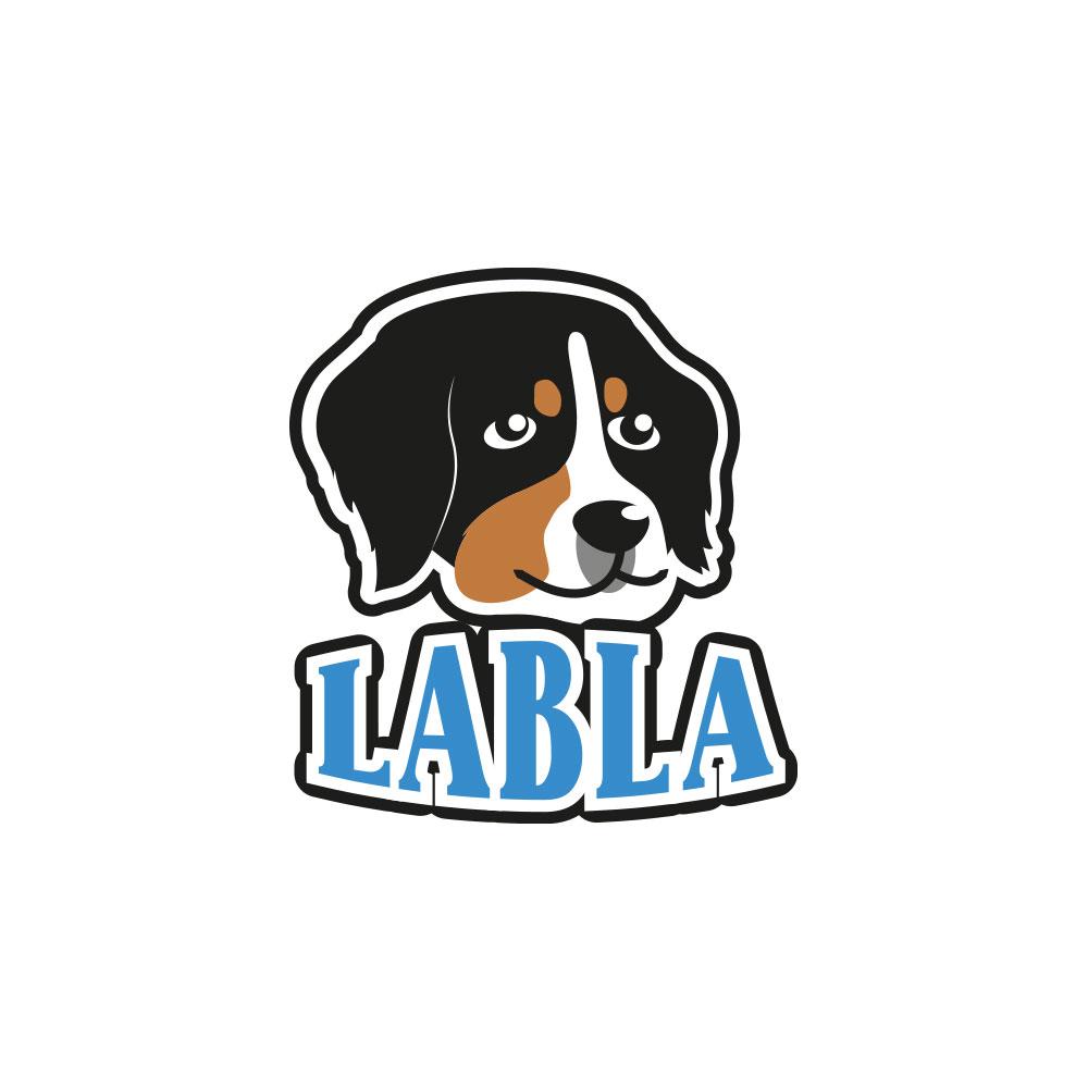 Labla - logo dla fryzjera dla psa