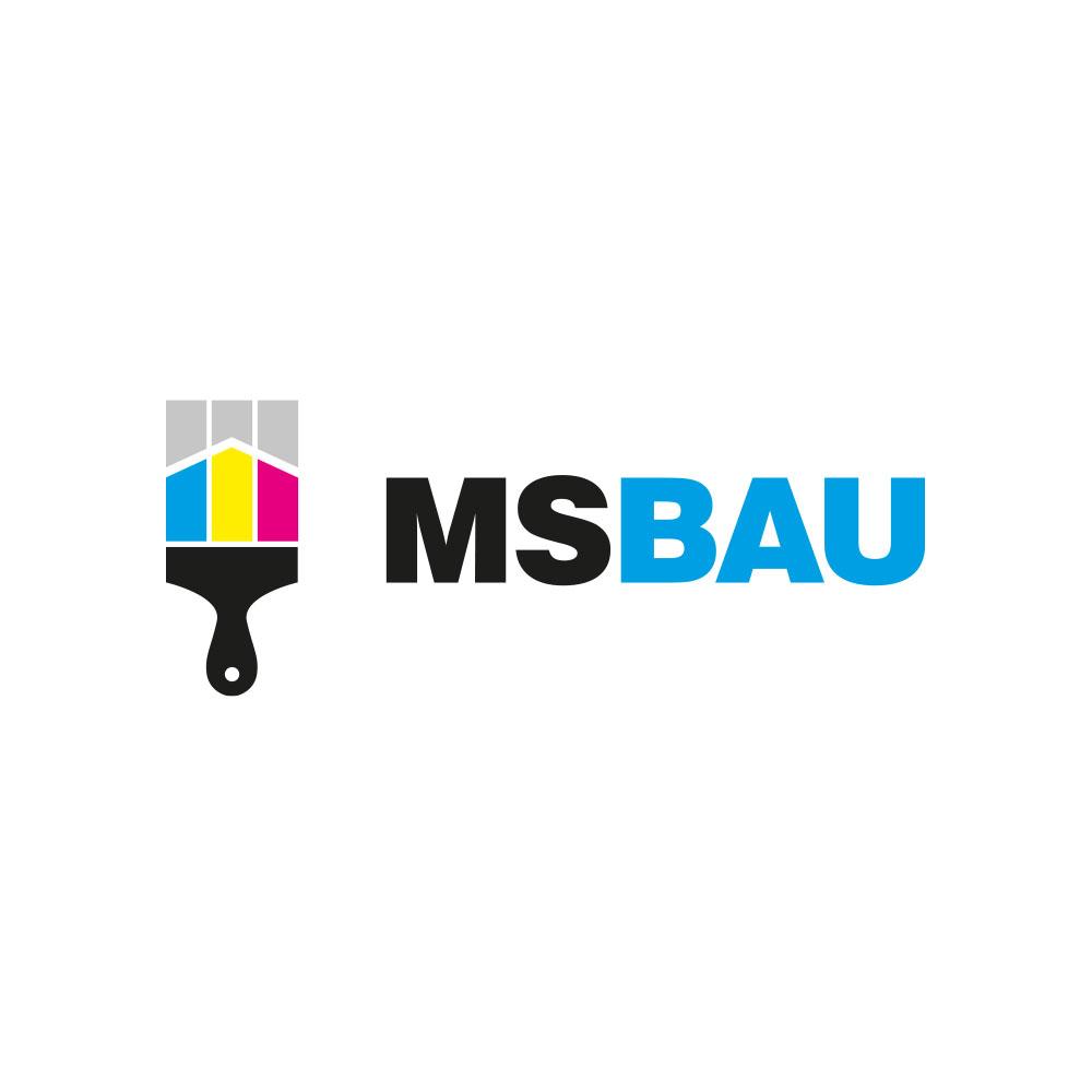 Ms-Bau - logo dla firmy remontowej