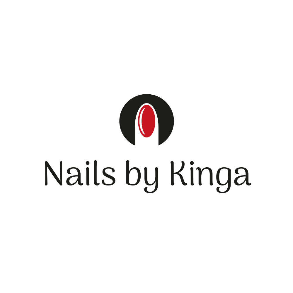 Nails by kinga - logo-dla salonu kosmetycznego