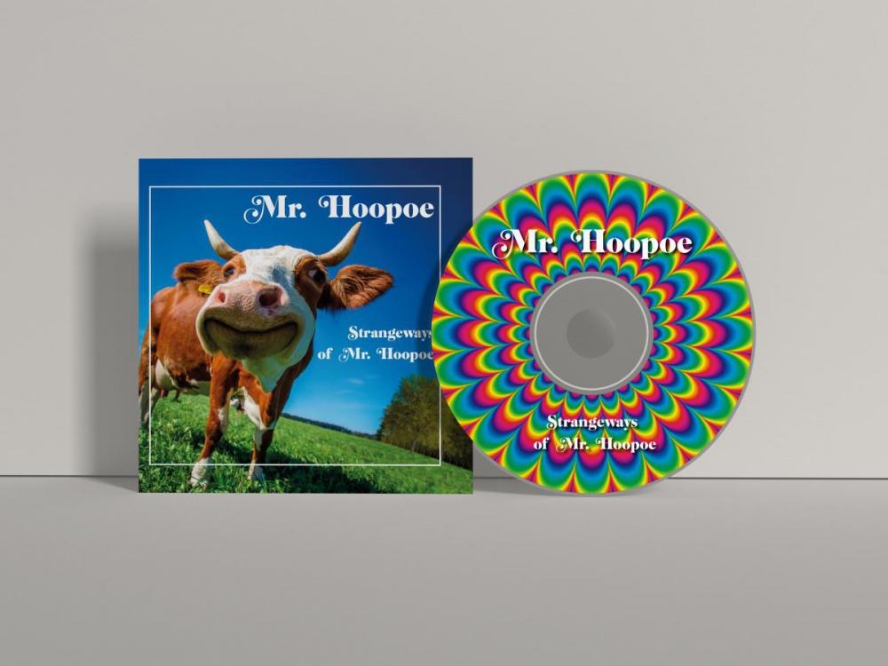 Projekt opakowania CD - okładka na płytę