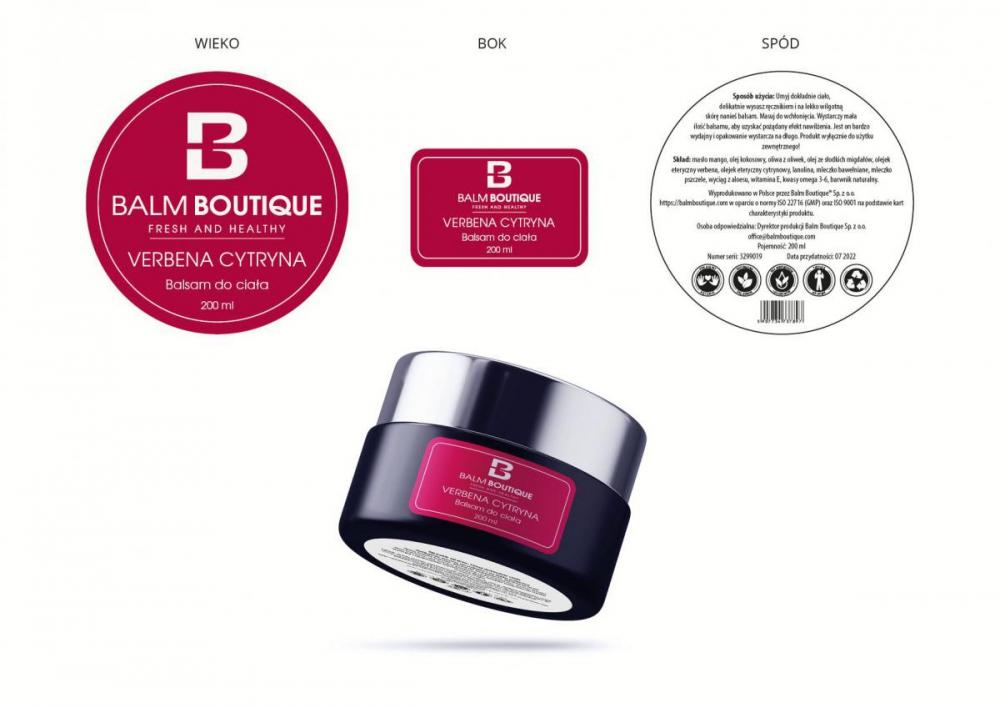 Projekt etykiet na kosmetyki