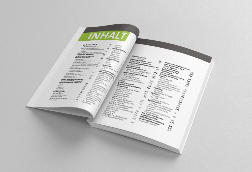 Projekt i skład książki - strony