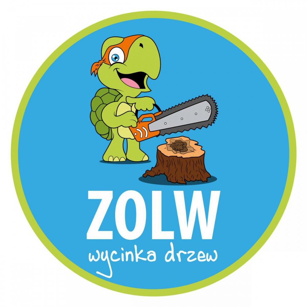 Projekt logo dla firmy - wycinka drzew