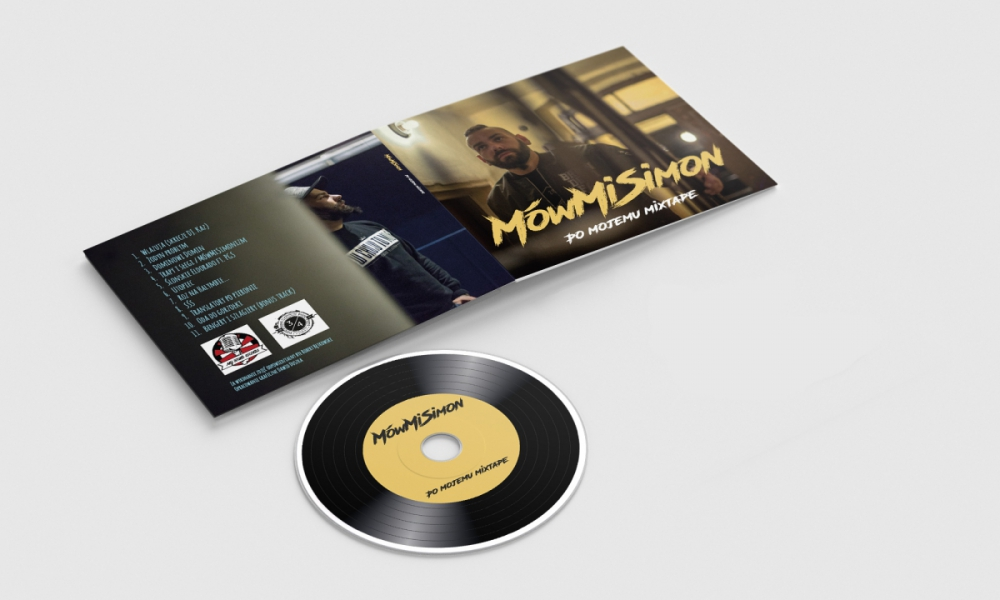 Projekt okładki digipack na płytę cd