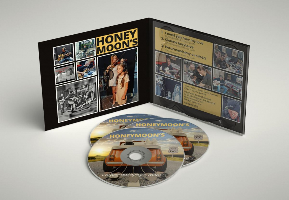 Projekt opakowania CD Digipack