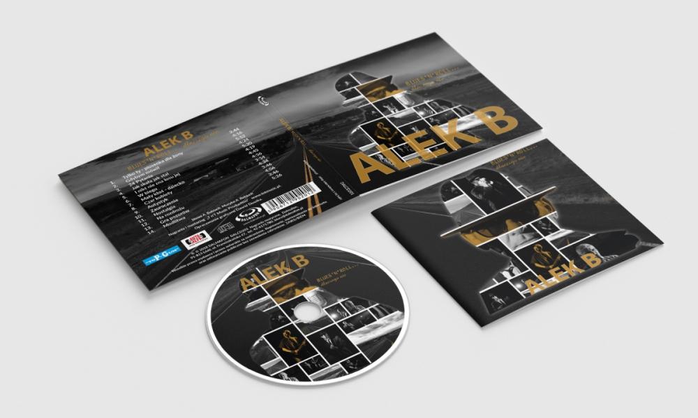 Projekt opakowania digipack na płytę cd
