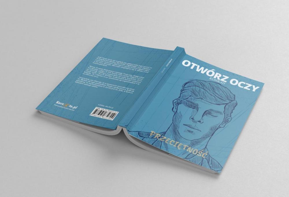 Projekt okładki książki - ilustracja do książki