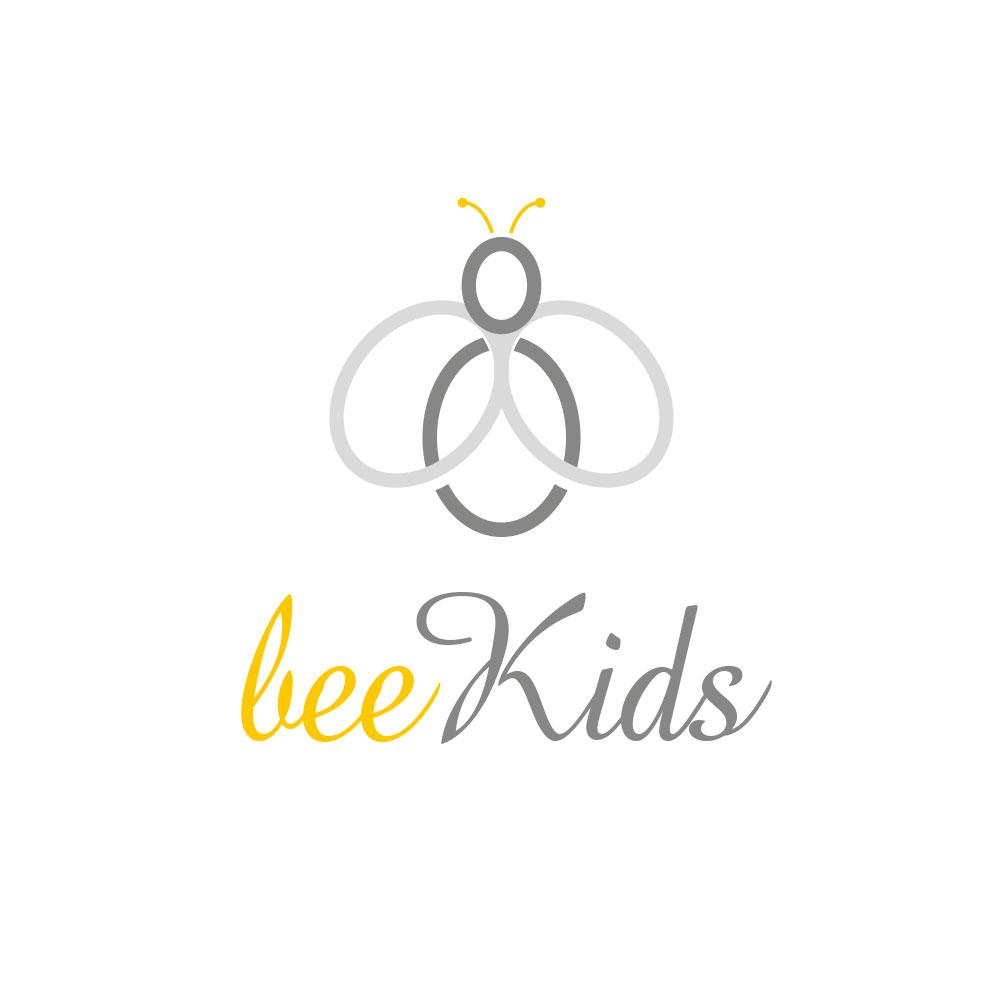 beeKids - logo dla-internetowego sklepu z odzieżą dla dzieci