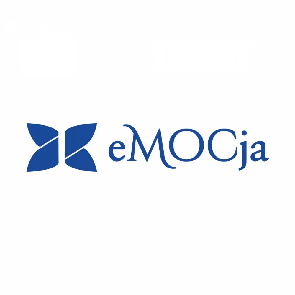 eMOCja - projekt logo dla poradni psychologicznej